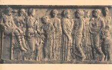 BR71008 musee national athens greece relief votif xenocrateia postcard sculpture
