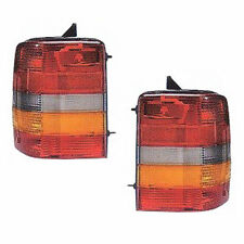 Fits 93-98 Jeep Grand Cherokee Tail Light Rear Lamp - PAIR