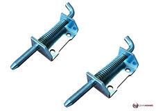 2 x Bullone MOLLA Fotografico Slip in acciaio inox di piccole dimensioni horsebox Cancello Armadietto BARCA Hatch