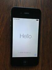 Apple iPhone 4 - 8GB - Black (Sprint) A1349 (CDMA) MD146LL/A FREE SHIPPING!