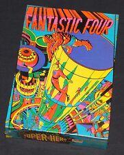 Fantastic Four Third Eye Blacklight Puzzle 1971 Sealed Rare NOSS Marvel CGC