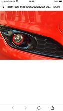 Ford Fiesta Mk7.5 Red And Black Edition Halo Inserts