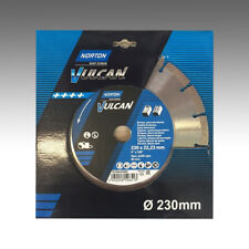 Norton Clipper 230 x 22,23 mm Diamantscheibe Vulcan Universal Bosch Makita Beton