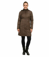 NWT The North Face Women Metropolis Down Parka Jacket Coat Weimaraner Brown XS