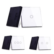 Smart Wireless 433Mhz Touch RF Remote Control Wall Transmitter For Light Switch
