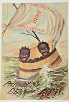 Pillsbury's Best in the Best  Unique Advertisement Vintage 11 x 16
