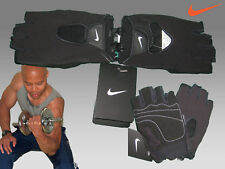 New NIKE Mens FUNDAMENTAL GLOVES FitDry Performance Fitness GYM Cycle Bike L