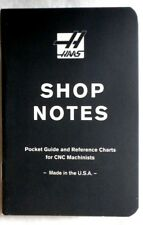 CNC Machinist Pocket Guide & Reference Chart, Formulas, G & M Code, Taps Threads