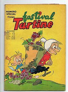 Festival TARTINE n°24. Trimestriel Chapelle 1967. BE