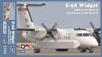 E-9A Widget/ DHC-8-106 Dash 8 Caribbean Coast Guard << AMP #144-003, 1:144 scale