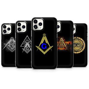 MASON SYMBOL MASONIC ILLUMINATI Eye Triangle phone Cases covers iPhone 7 X 11 12