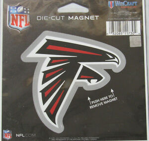 NFL Atlanta Falcons 4 inch Auto Magnet Die-Cut by WinCraft