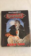 REALM OF TERROR 1053 RAVENLOFT AD&D TSR Boxed Set D&D Dungeons Dragons Box