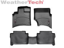 WeatherTech Floor Mats FloorLiner for Audi Q7 - 2007-2015- 1st/2nd Row - Black