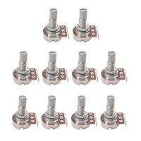 10PCS A25K Electric Guitar Audio Potentiometer Pot Push Pull Control Pots