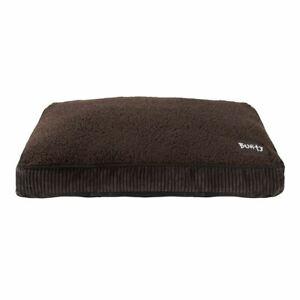 Bunty Snooze Soft Fur Fleece Dog Bed Pet Basket Mat Cushion Pillow Mattress