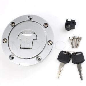 Fuel Gas Tank Cap Cover Lock W/Key Fit For CBF500/600 NT650/700V ST1300 VTR1000
