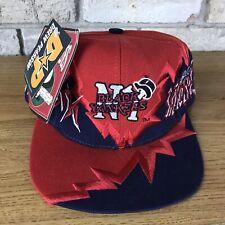 RARE Vintage 90s Drew Pearson Black Yankees Hat Cap Snapback Negro League Vtg
