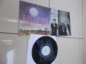 The Killers Day and Age 2017  Vinyl LP+ POSTER -  USED GOOD CONDITION
