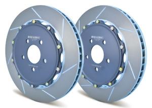 GiroDisc REAR 2pc Rotors for 09-12 Lamborghini Gallardo