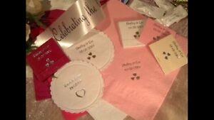 100 Personalised Napkins/serviettes Wedding, Christening, Birthday, Baby Shower,