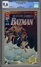 DETECTIVE COMICS #663 - CGC 9.6 - BANE - KNIGHTFALL PART 10 - 2043387022