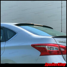 Rear window roof spoiler w/center cut (Fits: Nissan Sentra 2013-on) 284RC