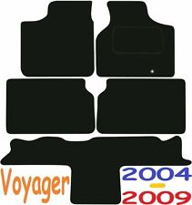 Chrysler Voyager Stow N Go DELUXE QUALITY Tailored mats 2004 2005 2006 2007 2008