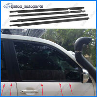 4ps Window Seal Belt Mould fit Toyota Landcruiser Prado 120 Series 2003-2009