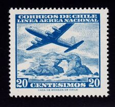 CHILE    SCOTT# C231   MNH    PLANE TOPICAL (OVER NATURAL ARCH ROCK)