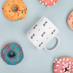 Boston Terrier Mug Coffee Mug Ceramic Mug Boston Terrier Gift Idea