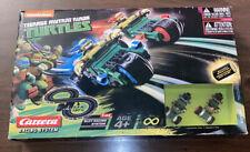 Carrera Go Teenage Mutant Ninja Turtle 2 Car/Trike Slot Race System 62196.
