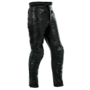 Pantalones Piel Moto Sport Touring Custom Protecciones Homologado Ce Hombre Dama