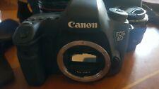 Canon Eos 6D body con cinturino in pelle e borsa da viaggio + due Obiettivi...