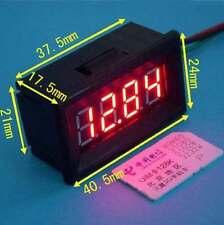 4 digital led thermometer Temperaturanzeige ds18b20 Sensor 12V 24V car Aquarium