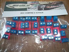 NEW! Acculite VAMPIRE II DCC Power Bus Wiring Connector  10pk Bob The Train Guy