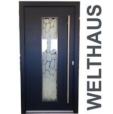 Haustür WeltHaus Haustüren WH94 Premiumtür Aluminium mit Kunststoff  KL120 Tür