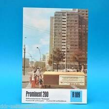 Prominent 200 201 202 Heimsuper 1976 | Prospekt Werbung DEWAG Radio DDR R109 G
