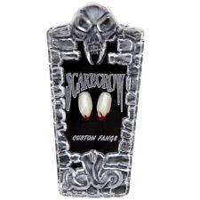 Scarecrow Blood Tip Classic Vampire Fangs Deluxe Vampire Teeth Halloween
