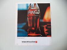 advertising Pubblicità 1973 COCACOLA COCA COLA