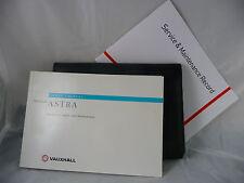 VAUXHALL ASTRA HATCH  ESTATE SERVICE BOOK HANDBOOK & WALLET PACK 1998 To 2005