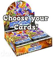 YuGiOh! - Battles of Legend: Light's Revenge - BLLR - Secret, Ultra Rare cards!!
