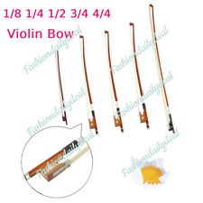 More details for violin cello bow arbor for 1/8 1/4 1/2 3/4 4/4 size fiddle +rosin xmas day