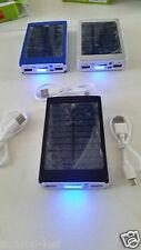 Wearable Solar Panel Charger 2 USB High-capacity 30000 mAh Mobile Phone Mp3 Tab