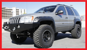 JEEP GRAND CHEROKEE WJ 1999 - 2004 WHEEL ARCH EXTENSIONS - FENDER FLARES + NEW +