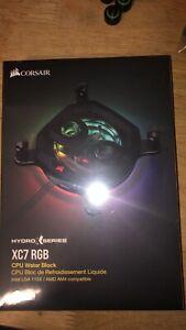 Corsair Hydro X Series XC7 RGB CPU Water Block (Read Description)