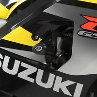 R&G RACING Aero Crash Protectors, Suzuki GSX-R600/750 K4-K5 *BLACK*