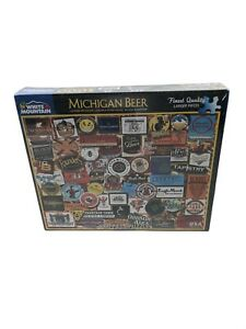 Michigan Beer Brewery Puzzle 1000 pc Brand New & Sealed Box - White Mountain USA