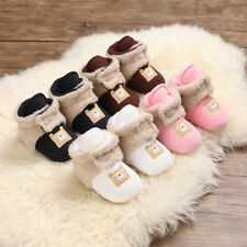 Fashion New Baby Boy Girl Warm Shoes Infant Child Comfortable Winter Boots 0-18M