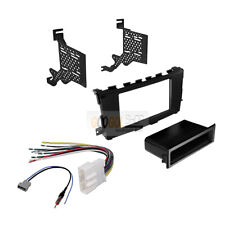 Car Radio Stereo Single/Double DIN Dash install Kit for 2013-2017 Nissan ALTIMA